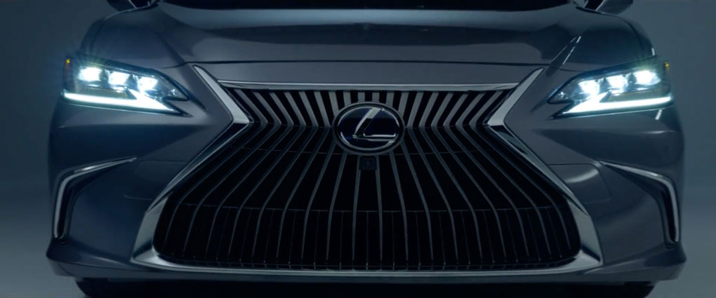 Screenshot of a Lexus commercial.